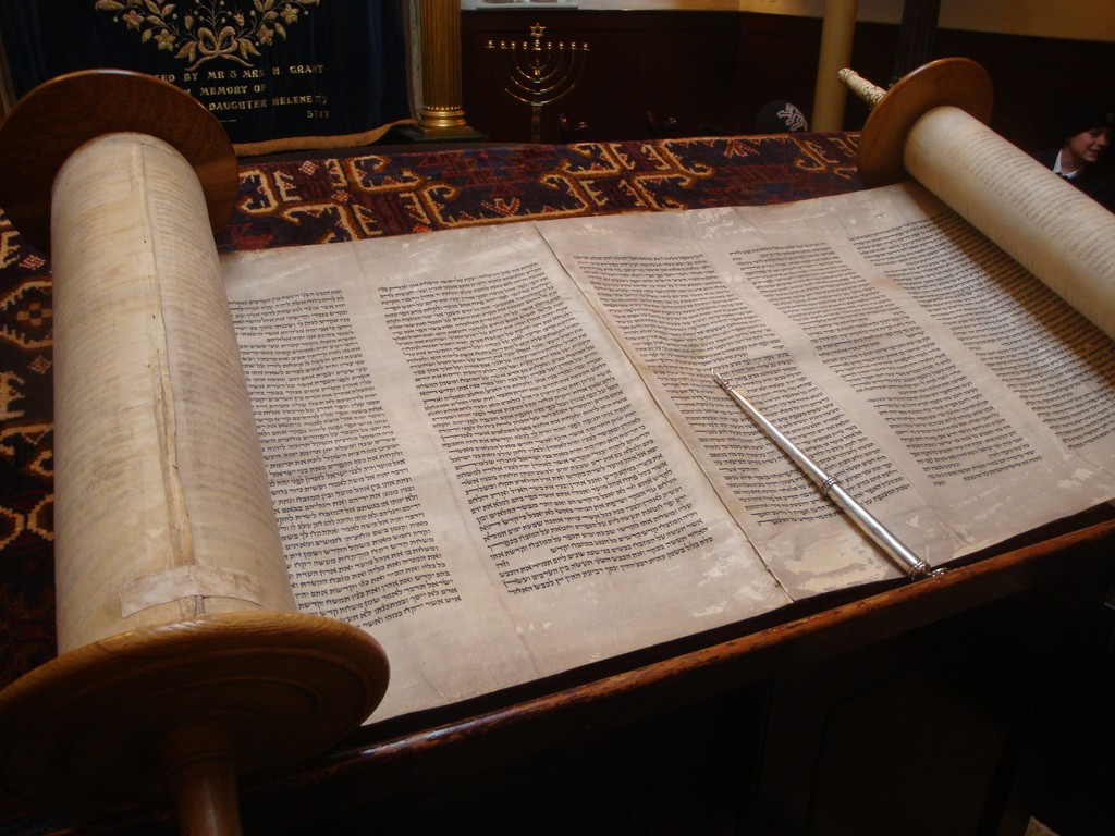 Torah Scroll - Lawrie Cate